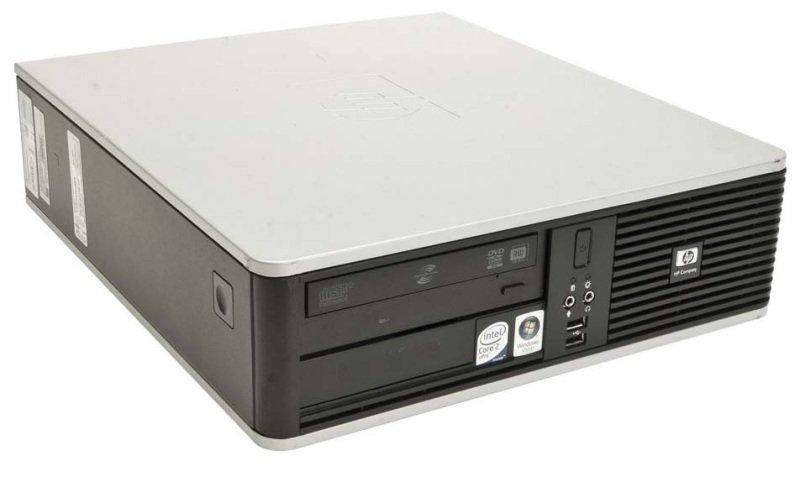 REFURBISHED HP Compaq DC7900 SFF Desktop Intel Core 2 Duo E8400 3GHz 4GB RAM 120GB SSD DVDROM Intel HD WIFI Windows 10 Pro