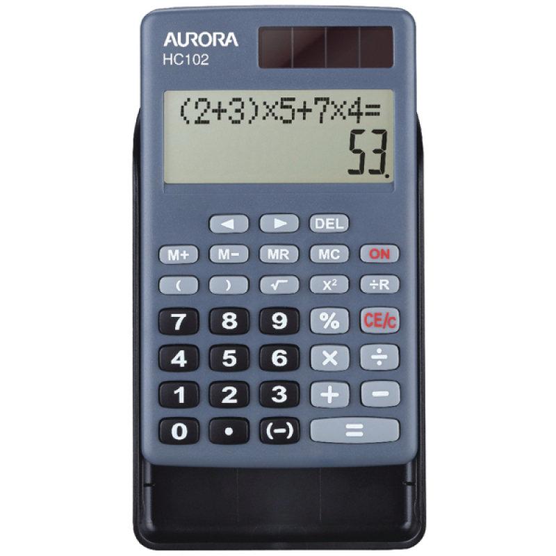 Aurora Hc102 10 Digit Pocket Calculator