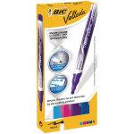 Bic Velleda Colour Dry Wipe Markerspk4