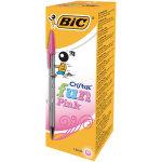 Bic Cristal Fun Pink Ball Pen Pk 20
