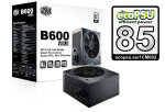 Cooler Master B-series V2 600w Power Supply Unit 80+ Efficiency With Uk Cable