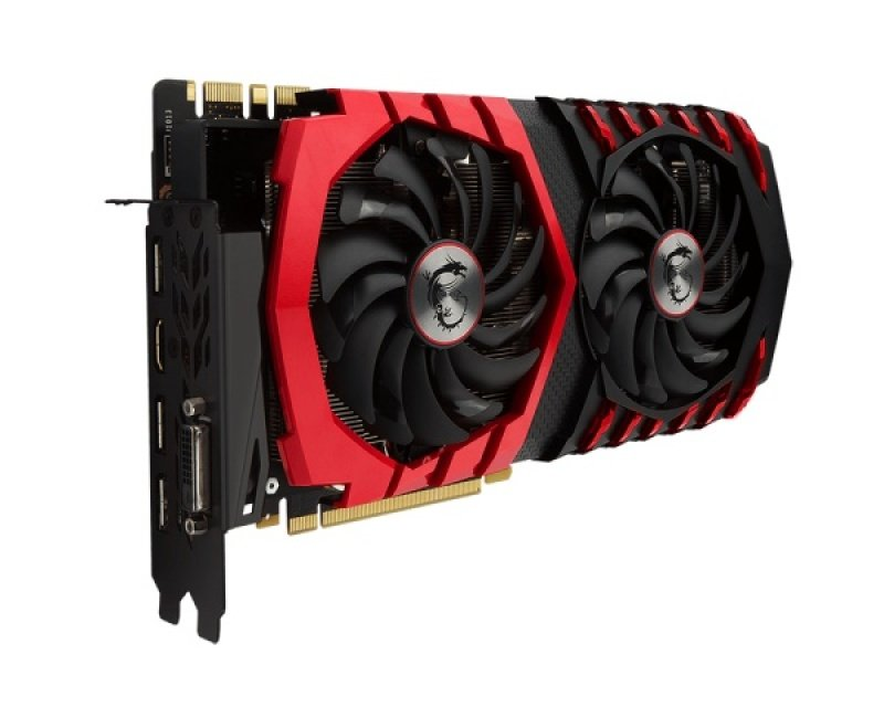 MSI GeForce GTX 1080 GAMING X 8GB GDDRX DVI HDMI 3 x DisplayPort PCI-E Graphics Card