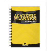 A5 Silvine Teachers Academic Planner 9 Period Day 204 Day