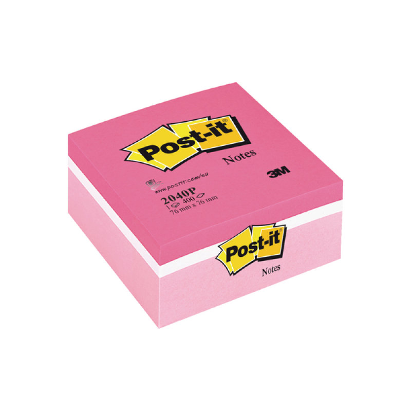 Post-it Notes Colour Cube Pink