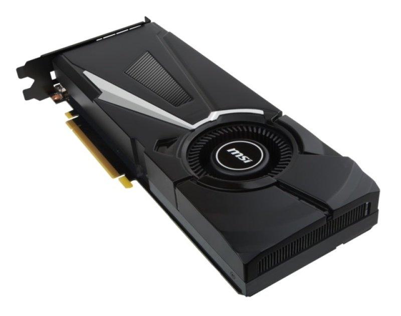 MSI GeForce GTX 1080 AERO OC 8GB GDDR5X DVI HDMI 3 x DisplayPort PCI-E Graphics Card