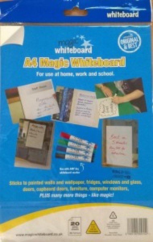 Image of Magic Whiteboard A4 20 Sheets