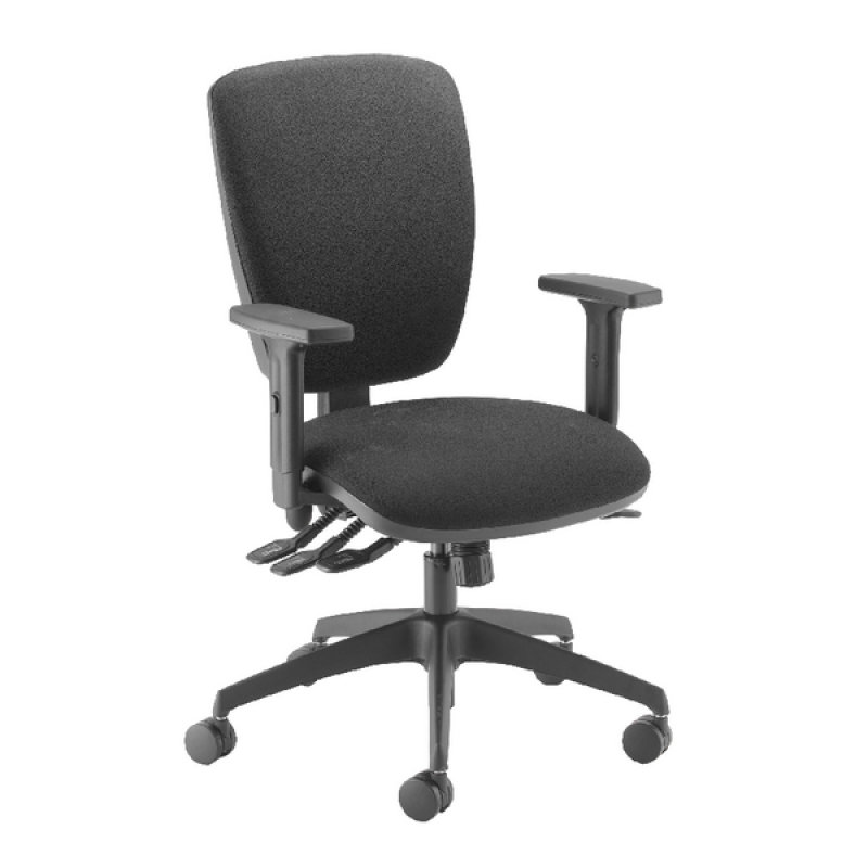 Image of Cappela Petite Posture Chair Square Back Black