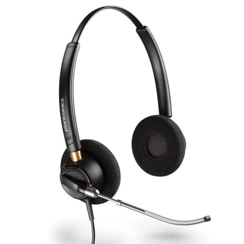 Image of Plantronics EncorePro HW520V On-Ear Headset