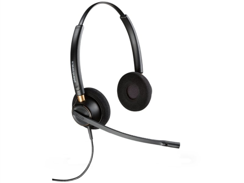 Plantronics EncorePro HW520 On-Ear Noise Cancelling Headset