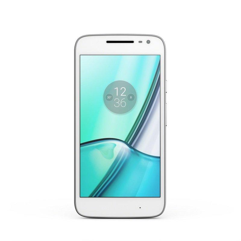 Motorola Moto G4 16GB, Dual SIM Smartphone - White