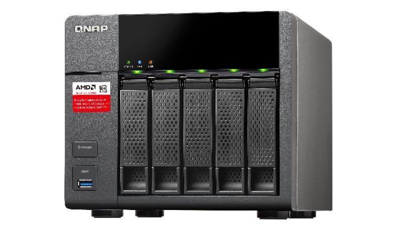 QNAP TS5638G 5TB (5 x 1TB WD RED) 5 Bay Desktop NAS