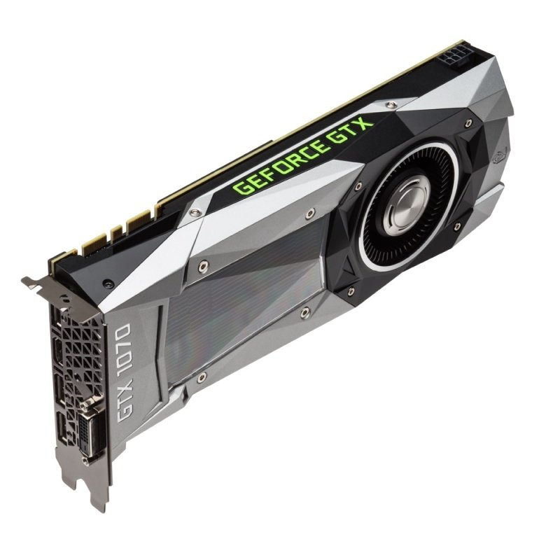 Gigabyte GeForce GTX 1070 Founders Edition 8GB GDDR5 DVI HDMI 3 x DisplayPort PCI-E Graphics Card