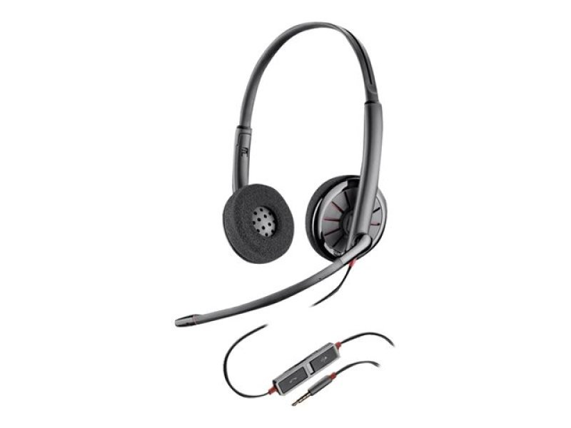 Plantronics Blackwire C225 On-Ear Headset