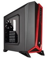 Corsair SPEC-ALPHA Mid-Tower Gaming Case - Black/Red