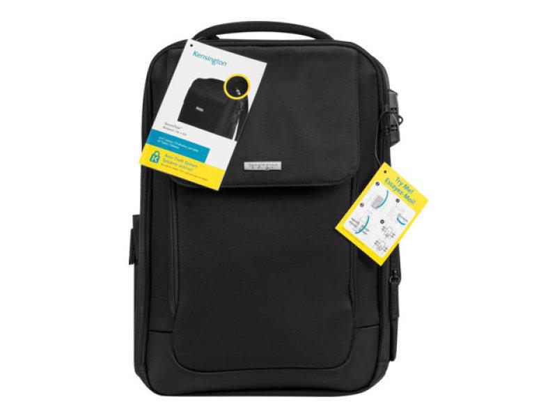 Kensington SecureTrek notebook carrying backpack