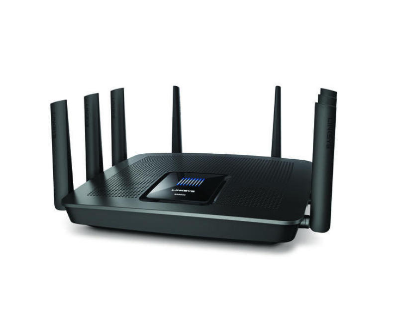 Linksys Tri-band Gigabit Smart Wi-fi Router Ac5400