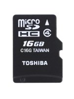 Toshiba 16GB High Speed M102 Class 4 Micro SD Card With Adapter