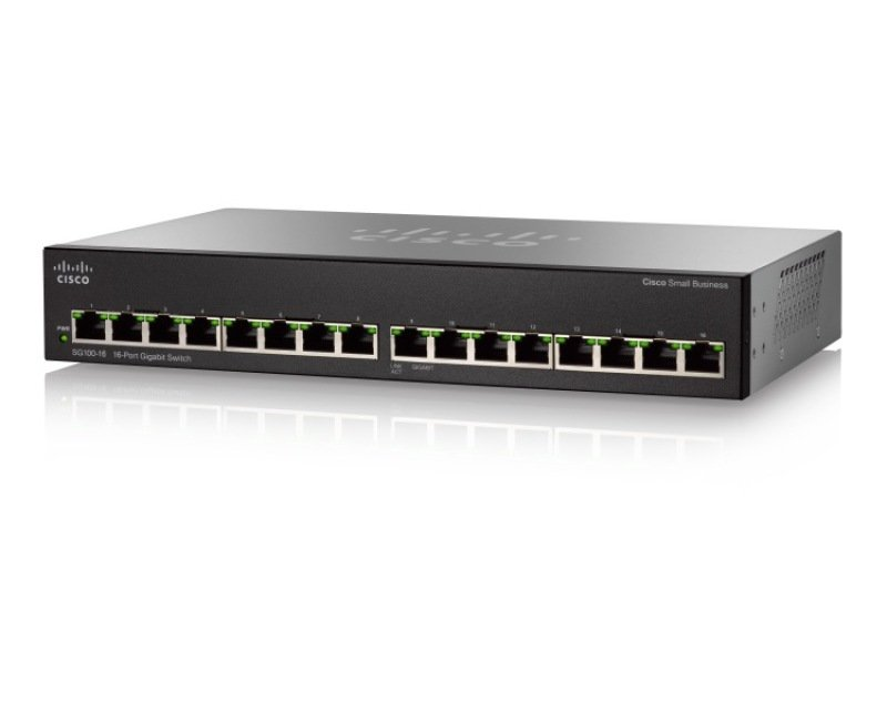 Cisco Small Business SG110-16 16 ports unmanaged Switch