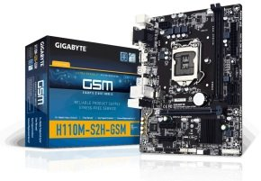 EXDISPLAY Gigabyte GA-H110M-S2H Socket LGA 1151 VGA DVI-D HDMI Micro ATX Motherboard