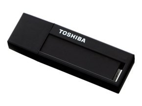 Toshiba 32GB TransMemory U302 USB 3.0 Flash Drive - Black