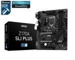 MSI Z170A SLI PLUS Socket 1151 VGA DVI-D HDMI 7.1-Channel HD Audio ATX Motherboard