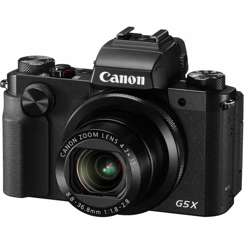 Canon PowerShot G5 X 20.2 MP Compact Digital Camera - Black