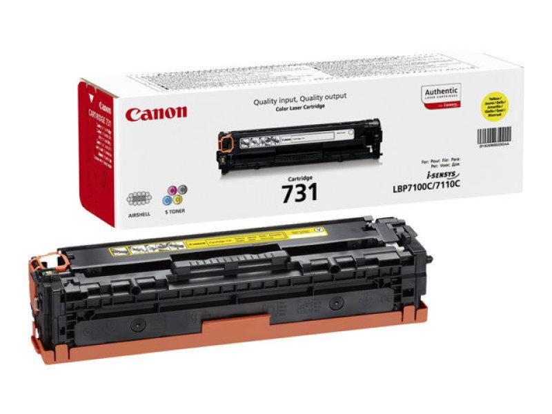 Canon 731Y Yellow Toner Cartridge