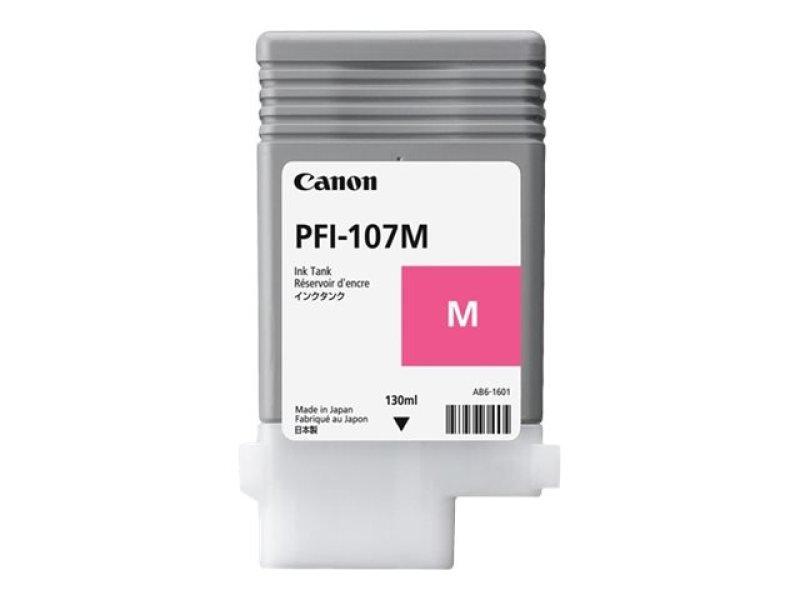 Canon PFI-107M Magenta Ink Tank 130ml