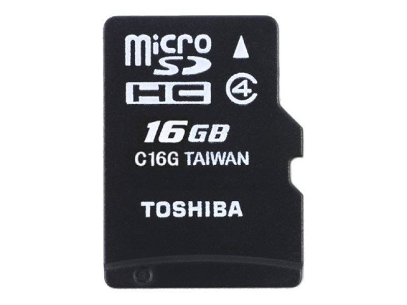 Toshiba M102 Class 4 16GB Micro SD Card With Adapter
