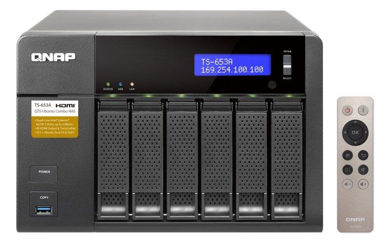 QNAP TS-653A-8G 6 Bay NAS Enclosure with 8GB RAM