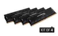 HyperX Predator 16GB (4x4GB) 3200MHz DDR4 CL16 DIMM Memory Kit