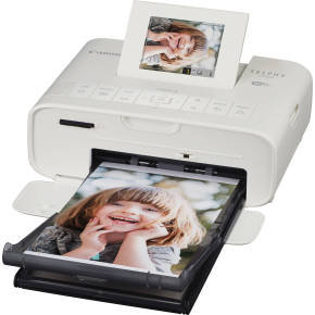 Canon Selphy Cp1200 Wireless Compact Photo Printer - White