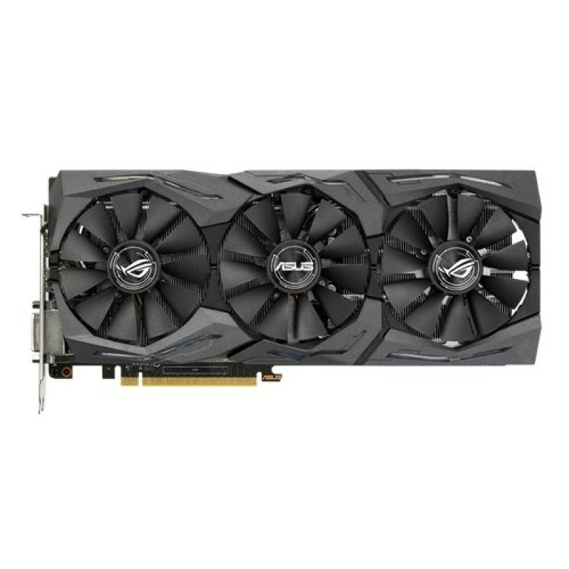 Asus GTX 1080 STRIX GAMING 8GB GDDR5X Dual-Link DVI-D HDMI DisplayPort PCI-E Graphics Card