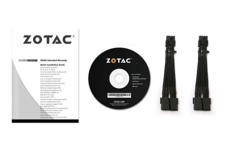 Zotac GeForce GTX 1080 AMP Extreme 8GB GDDR5X Dual-link DVI HDMI 3x DiplayPort PCI-E Graphics Card