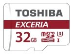Toshiba Exceria M302 32GB Micro SD Card With Adapter