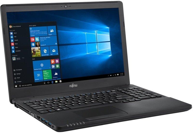 """Image of Fujitsu Lifebook A556 Laptop, Intel Core i5-6200U 2.3 GHz, 4GB DDR4, 500GB HDD, 15.6"""" LED Backlit, DVDRW, Intel HD 520, Webcam, Bluetooth, Windows 7 / 10 Pro 64bit"""