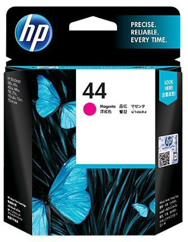 HP 44 42ml Magenta Ink Cartridge  51644ME