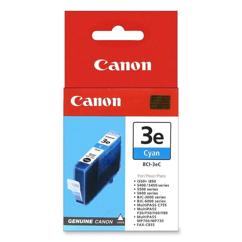 *Canon BCI-3eC - Cyan Ink Cartridge
