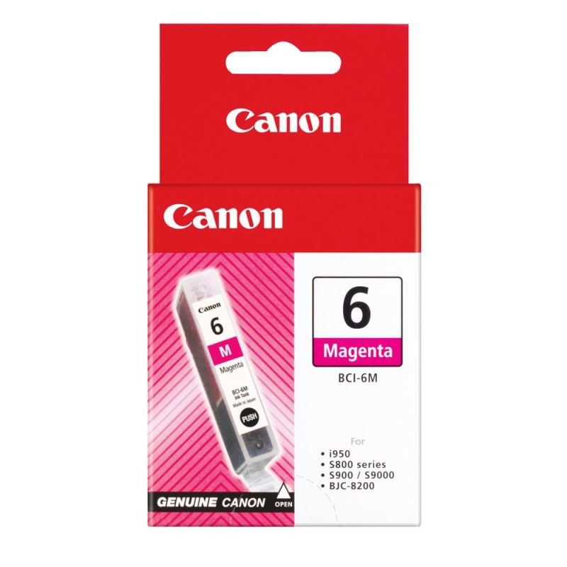 Canon BCI-6M - Magenta Ink Cartridge