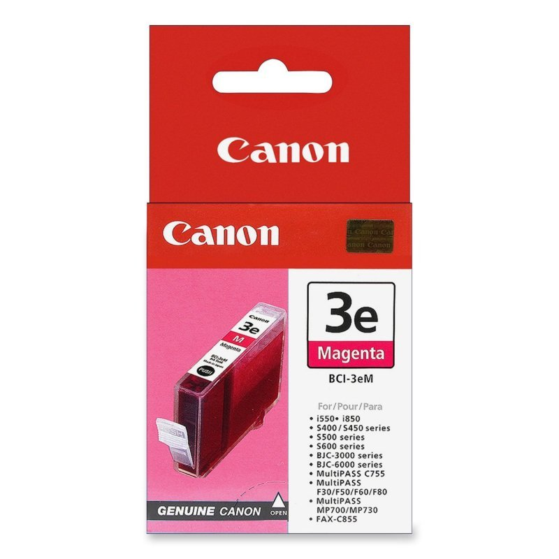 Canon BCI-3eM - Magenta Ink Cartridge