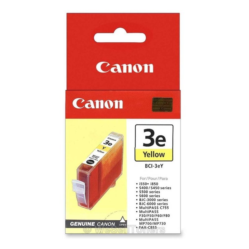 Canon BCI-3eY - Yellow Ink Cartridge