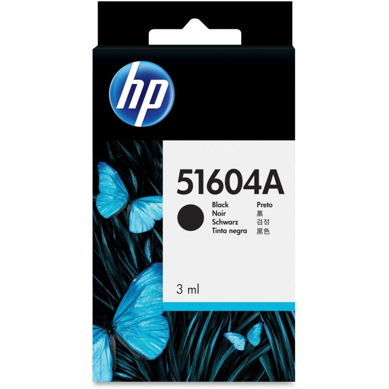 HP 51604A Black Plain Paper Print Cartridge - 51604A