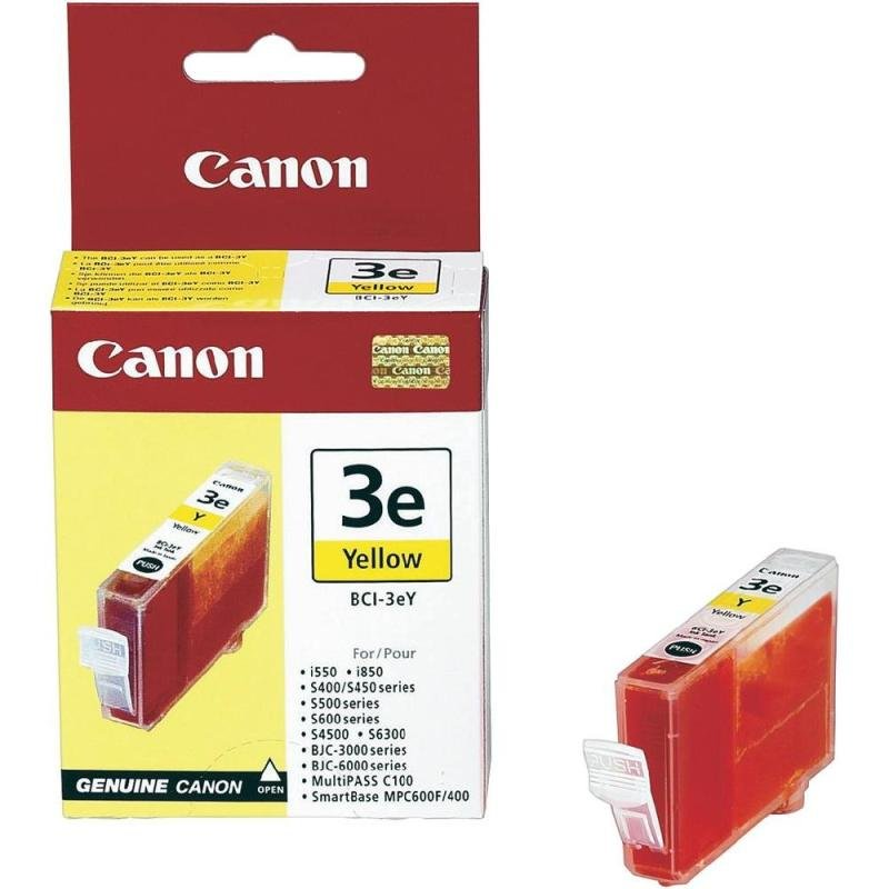 Canon BCI 3EY Yellow Ink Cartridge