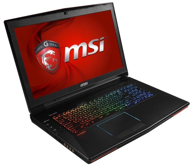 MSI GT72S 6QE(Dominator Pro 4K)1063UK Gaming Laptop Skylake i76820HK 16GB DDR4 256GB SSD 1TB HDD 17.3 UHD DVDRW nVidia Geforce GTX 980M Windows 10