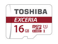 Toshiba EXCERIA M302 16GB Micro SDHC Memory Card With Adapter