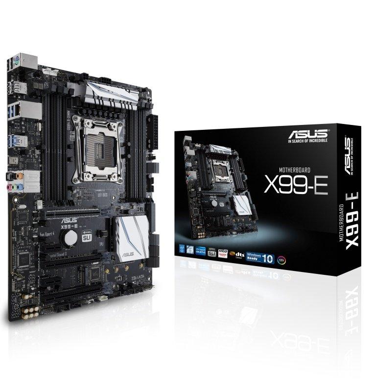 Asus X99E Socket LGA 2011v3 8Channel HD Audio ATX Motherboard