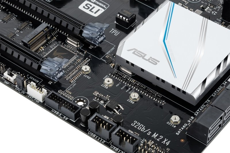 Asus X99-E Socket LGA 2011-v3 8-Channel HD Audio ATX Motherboard