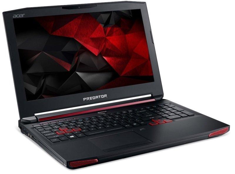 Image of Acer G9-591 Predator Gaming Laptop, Intel Core i7-6700HQ, 16GB RAM, 1TB HDD, 512GB SSD, 17.3 4K UHD (3840 x 2160), Blu-Ray, NVIDIA GTX 980M, WIFI, Windows 10 Home