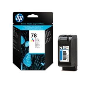 HP 78 Tri-color Ink Cartridge - C6578D