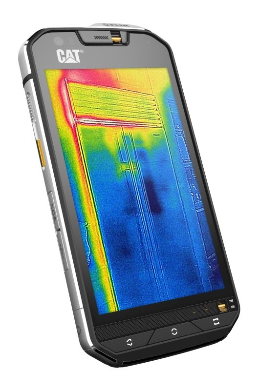 Image of Cat S60 Thermal Imaging Rugged 32GB Smartphone